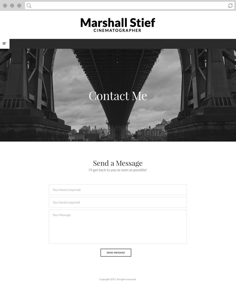 Website Design: Contact Us